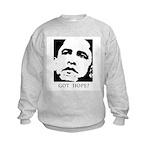 Obama 2008: Got hope? Kids Sweatshirt