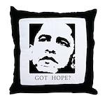 Obama 2008: Got hope? Throw Pillow