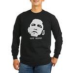 Obama 2008: Got hope? Long Sleeve Dark T-Shirt