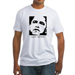Obama 2008: Got hope? Fitted T-Shirt