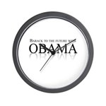 Barack to the future with Obama Wall Clock