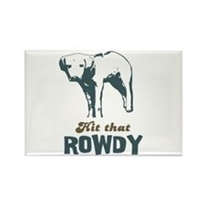Hit That Rowdy Rectangle Magnet (10 pack)