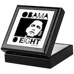 Obama 2008: Obama O eight Keepsake Box