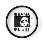 Obama 2008: Obama O eight Wall Clock