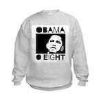 Obama 2008: Obama O eight Kids Sweatshirt
