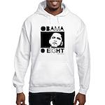 Obama 2008: Obama O eight Hooded Sweatshirt