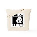 Obama 2008: Obama O eight Tote Bag