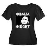 Obama 2008: Obama O eight Women's Plus Size Scoop