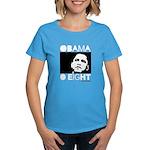 Obama 2008: Obama O eight Women's Dark T-Shirt