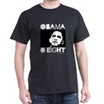 Obama 2008: Obama O eight Dark T-Shirt