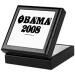 Vintage Obama 2008 Keepsake Box