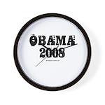 Vintage Obama 2008 Wall Clock