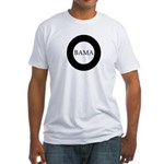 Obama 2008: O-bama Fitted T-Shirt