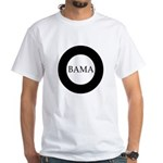 Obama 2008: O-bama White T-Shirt
