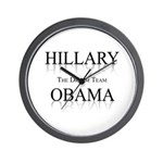 Hillary / Obama: The dream team Wall Clock