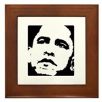 Obama 2008 Framed Tile
