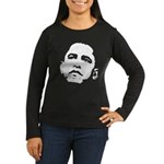 Obama 2008 Women's Long Sleeve Dark T-Shirt