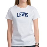 LEWIS design (blue) Tee