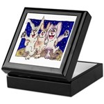 Full Moon Rabbits Keepsake Box