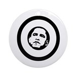 Obama 2008: O Ornament (Round)