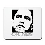 Obama 2008: Change Mousepad