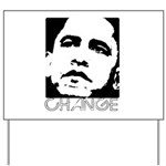 Obama 2008: Change Yard Sign