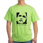 Obama 2008: Change Green T-Shirt