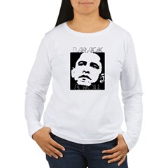 Obama 2008: Barack & Roll Women's Long Sleeve T-Sh