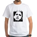 Obama 2008: Barack & Roll White T-Shirt