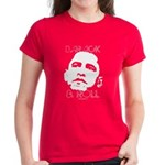 Obama 2008: Barack & Roll Women's Dark T-Shirt