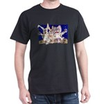 Full Moon Rabbits Dark T-Shirt