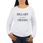 Hillary / Obama: Got Hope? Women's Long Sleeve T-S