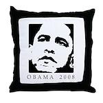 Obama 2008 Throw Pillow