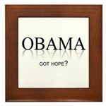 Got Hope? Framed Tile
