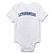 LETOURNEAU design (blue) Infant Bodysuit