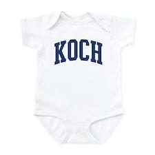 KOCH design (blue) Infant Bodysuit