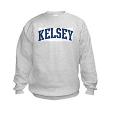 KELSEY design (blue) Sweatshirt