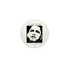 Obama 2008: Barack and Roll Mini Button (100 pack)