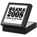 Obama 2008: Barack to the future Keepsake Box
