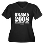 Obama 2008: Barack to the future Women's Plus Size