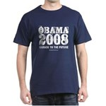 Obama 2008: Barack to the future Dark T-Shirt