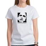 Obama 2008: Peace and Hope Women's T-Shirt