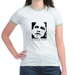 Obama 2008: Peace and Hope Jr. Ringer T-Shirt