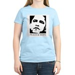 Obama 2008: Peace and Hope Women's Light T-Shirt