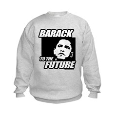 Barack to the future Kids Sweatshirt