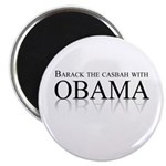 Barack the casbah with Obama Magnet