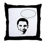 Obama (write in message) Throw Pillow