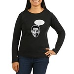 Obama (write in message) Women's Long Sleeve Dark