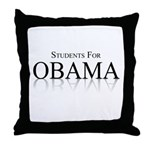 Students for Obama Throw Pillow