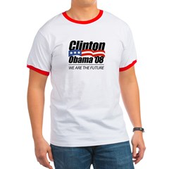 Clinton/Obama '08: We are the future Ringer T
